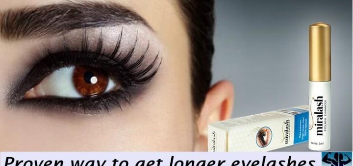 Miralash-Proven way to get longer eyelashes