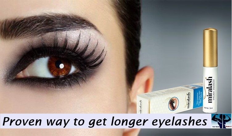 Miralash-Proven way to get longer eyelashes