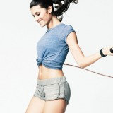 Jumping rope is a simple but effective way to burn a lot of calories.