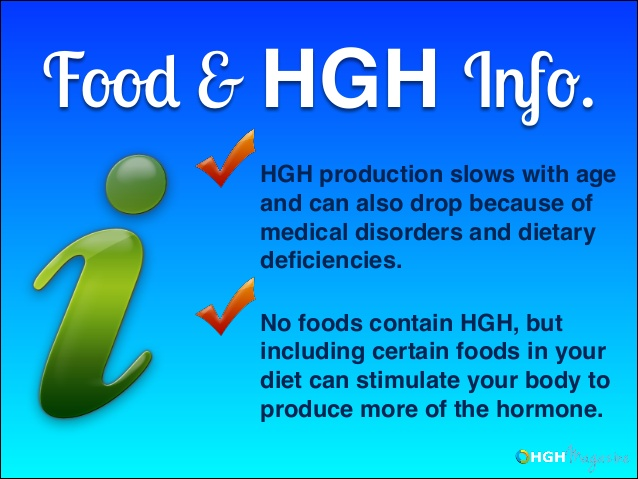 HGH declines with age and can be impacted by diet and medical issues. By adding specific foods to your diet you can help promote increased production of this important hormone.