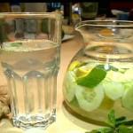 Detox water recipe (Schlank wasser)