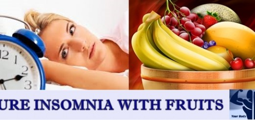 CURE INSOMNIA WITH FRUITS