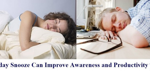 Midday Snooze Can Improve Awareness and Productivity