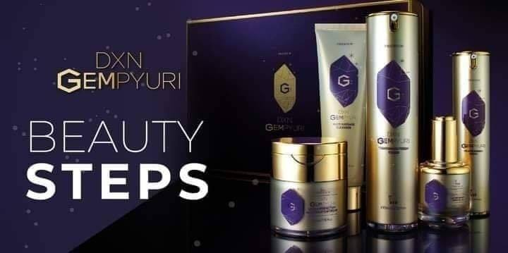 DXN Gempyuri őroducts help to reduce wrinkles