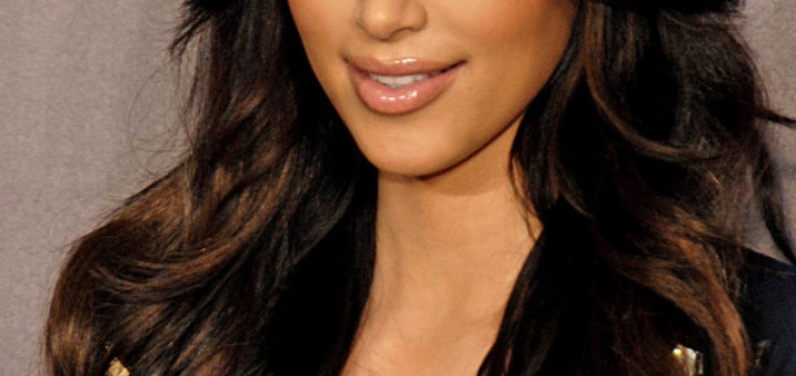 Kim smears fungus on her face to keep her skin looking smooth